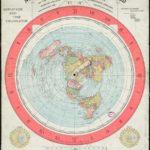 """Карта плоской земли """"AS IT IS"""" (Как она есть)."""